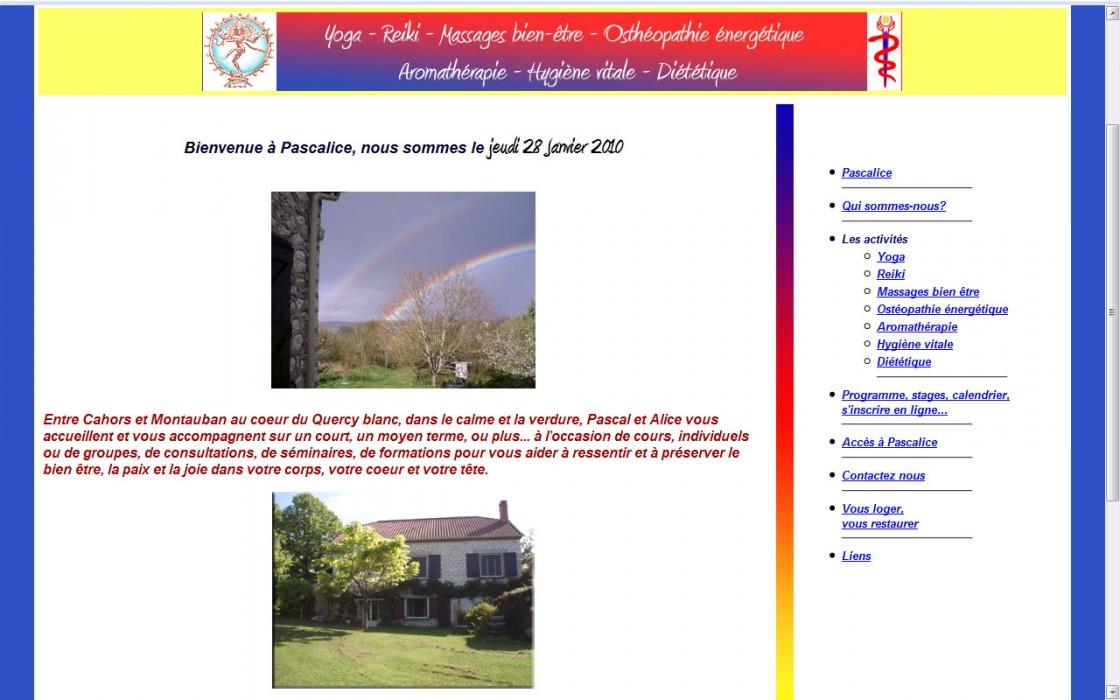 Site en html